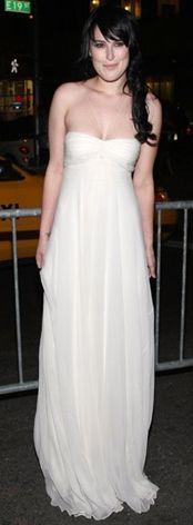 Kim: Rumer Willis Ne Giyiyor: Stella McCartneyNerede: New York AMC'de 7. Tribeca Film Festivali kapsamında 'From Within' filminin premierinde